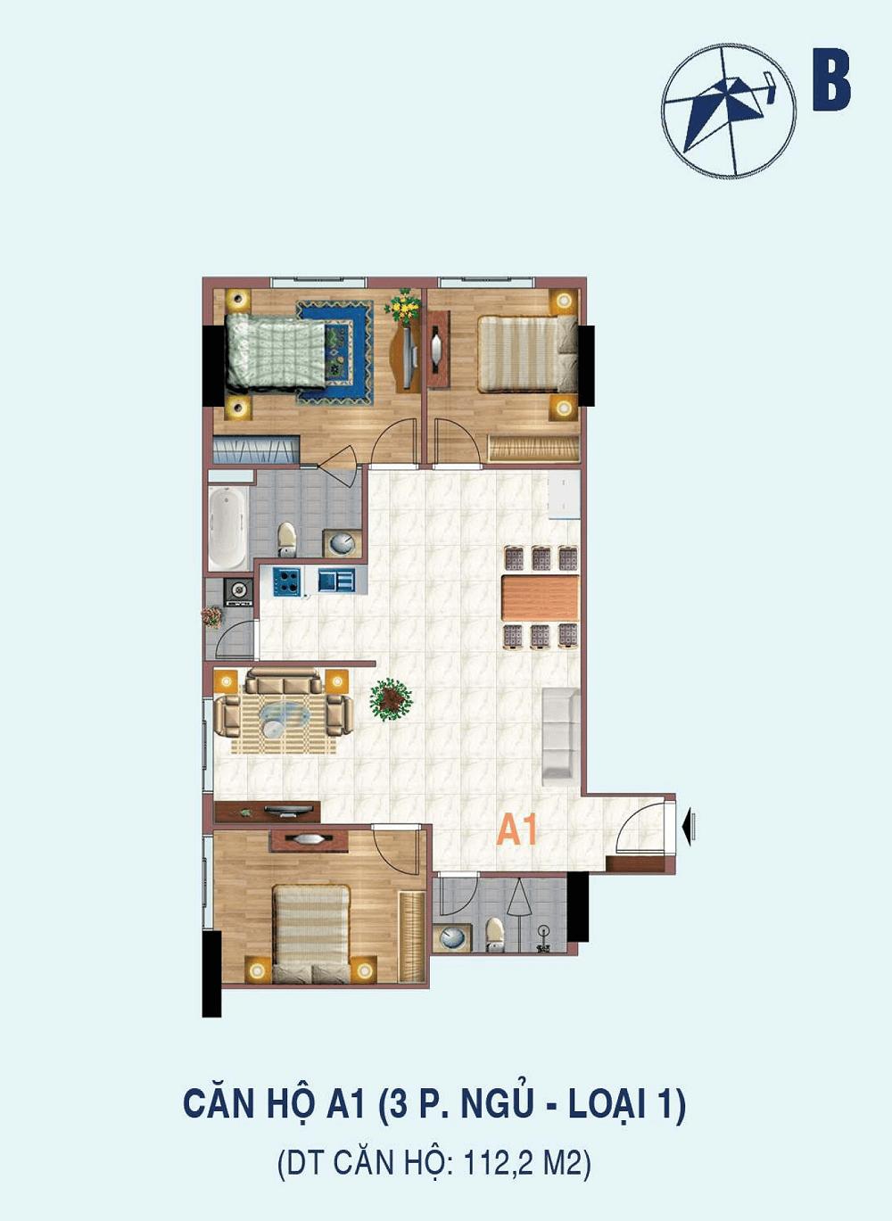 căn hộ a1 chung cư liễu giai tower