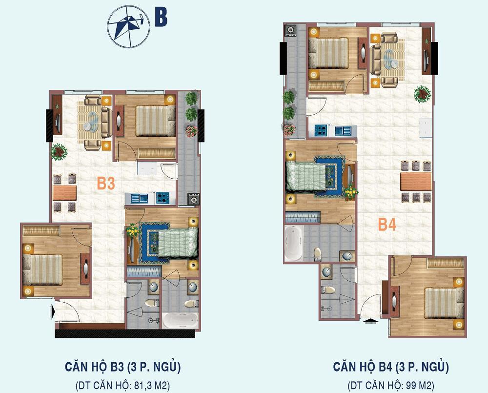căn hộ b3,b4 chung cư liễu giai tower